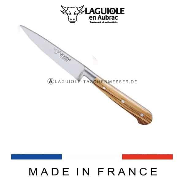 laguiole en aubrac kuchenmesser olivenholz 10 cm
