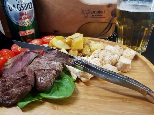 laguiole steakmesser griff horn