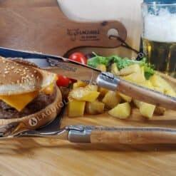 laguiole steakmesser griff wacholder