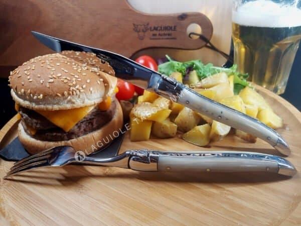 laguiole steakmesser hornspitze