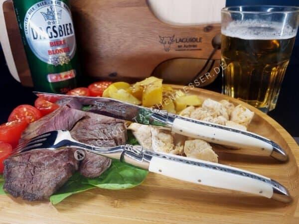 laguiole steakmesser knochen