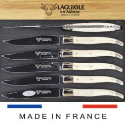 laguiole steakmesser set knochen