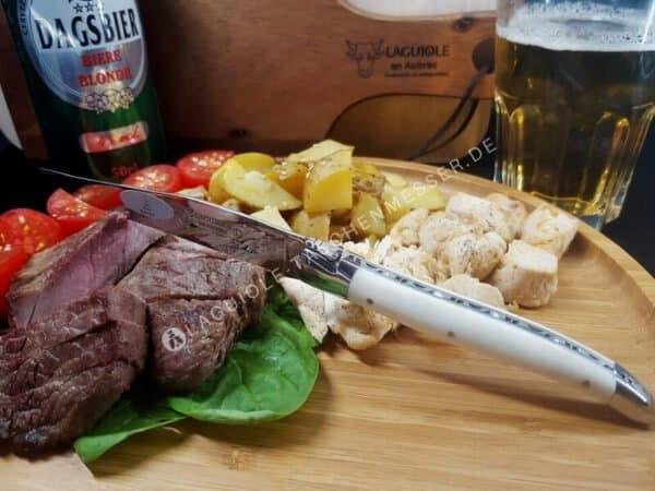 original laguiole steakmesser set knochen