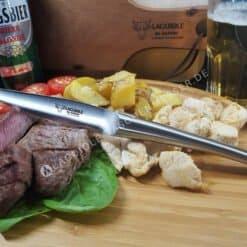 original laguiole steakmesser set monobloc stahl hochglanz matt