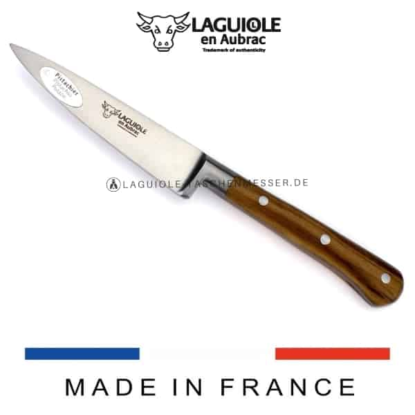laguiole en aubrac küchenmesser 10 cm pistazienholz