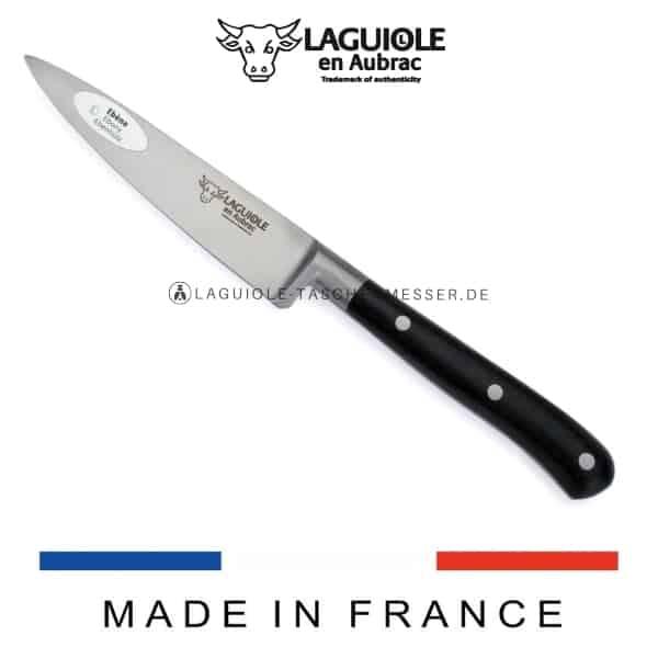 laguiole en aubrac küchenmesser ebenholz 10 cm