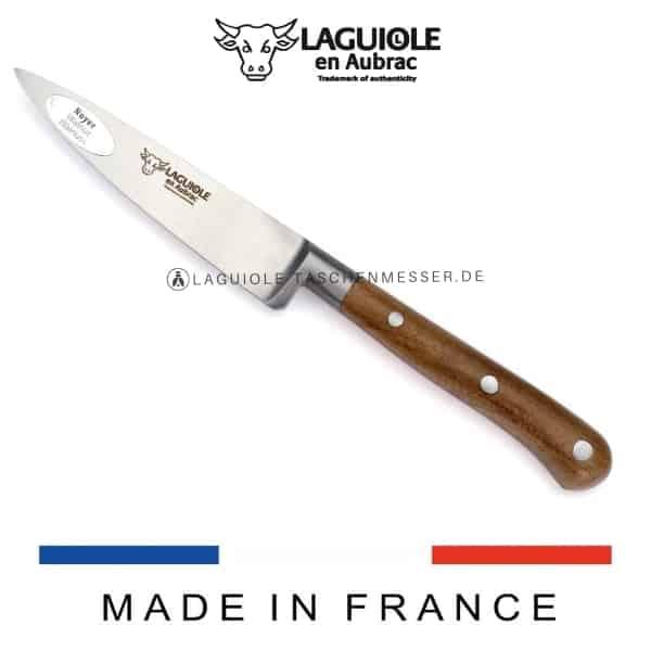 laguiole en aubrac küchenmesser walnussholz 10 cm