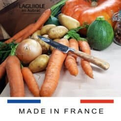 laguiole küchenmesser 10 cm olivenholz