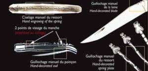 ciselage laguiole feder