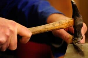 Mitrage der Laguiole-Messer