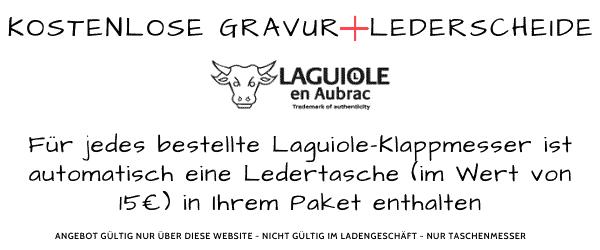 laguiole mit gravur und leder