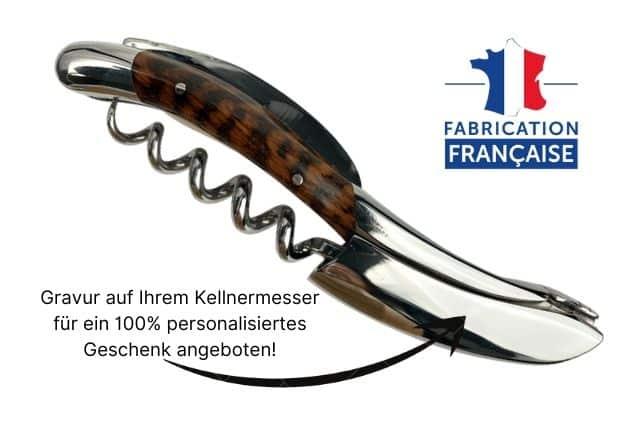 Kellnermesser personalisiert laguiole